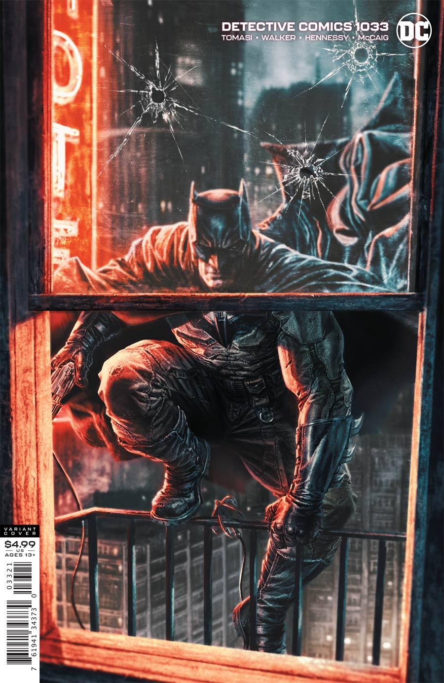 Detective Comics Vol 2 #1033 Cover B Variant Lee Bermejo Card Stock Cover