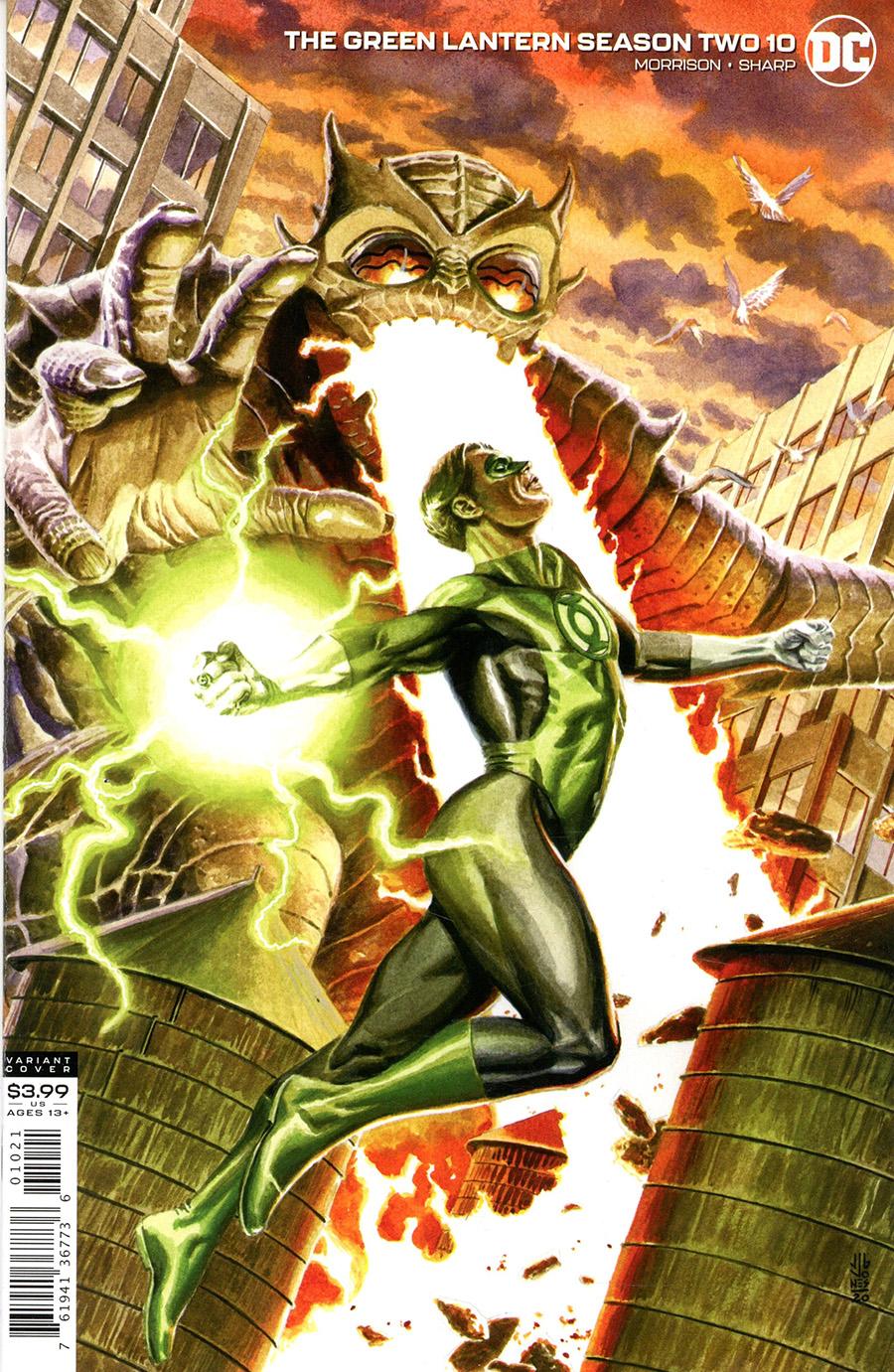 Green Lantern Vol 6 Season 2 #10 Cover B Variant JG Jones Cover