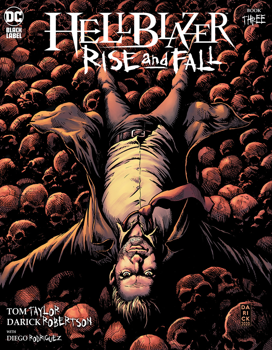 Hellblazer Rise And Fall #3 Cover A Regular Darick Robertson Cover