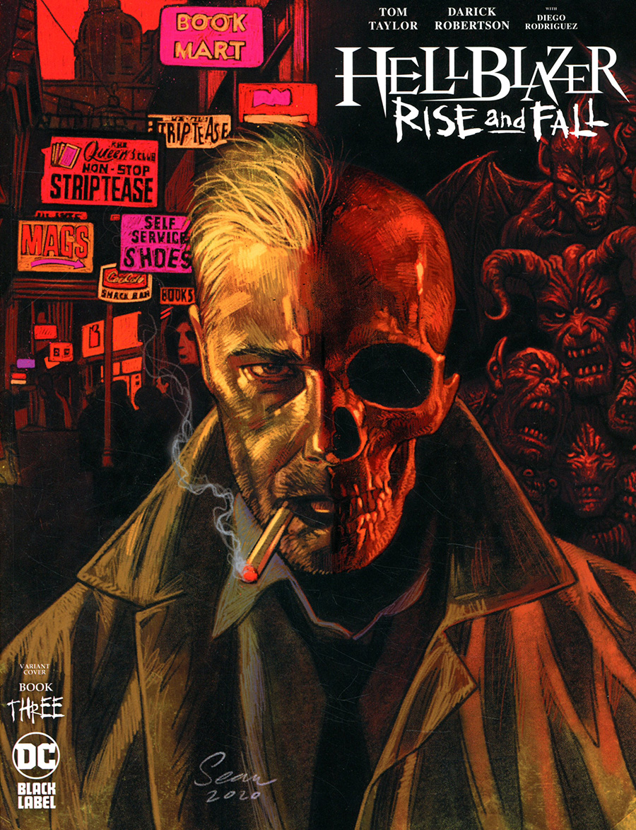 Hellblazer Rise And Fall #3 Cover B Variant Sean Phillips Cover