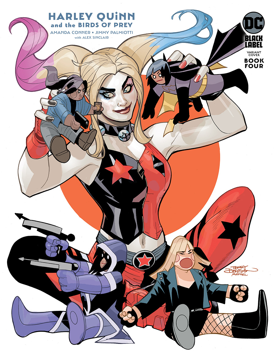 Harley Quinn And The Birds Of Prey #4 Cover B Variant Terry Dodson Cover