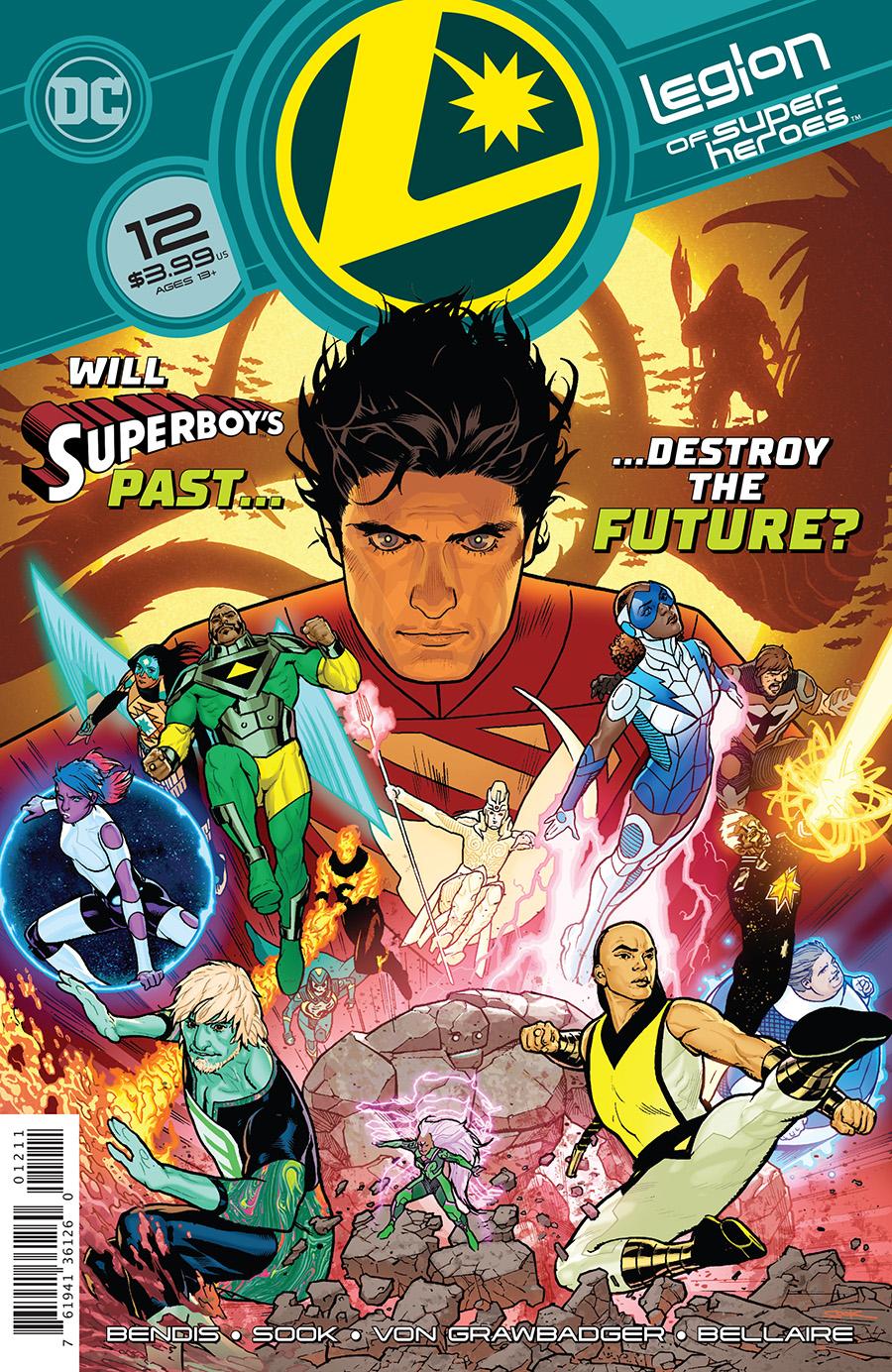 Legion Of Super-Heroes Vol 8 #12 Cover A Regular Ryan Sook Cover