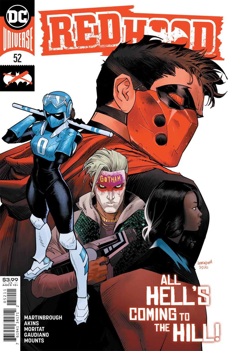 Red Hood #52 Cover A Regular Dan Mora Cover
