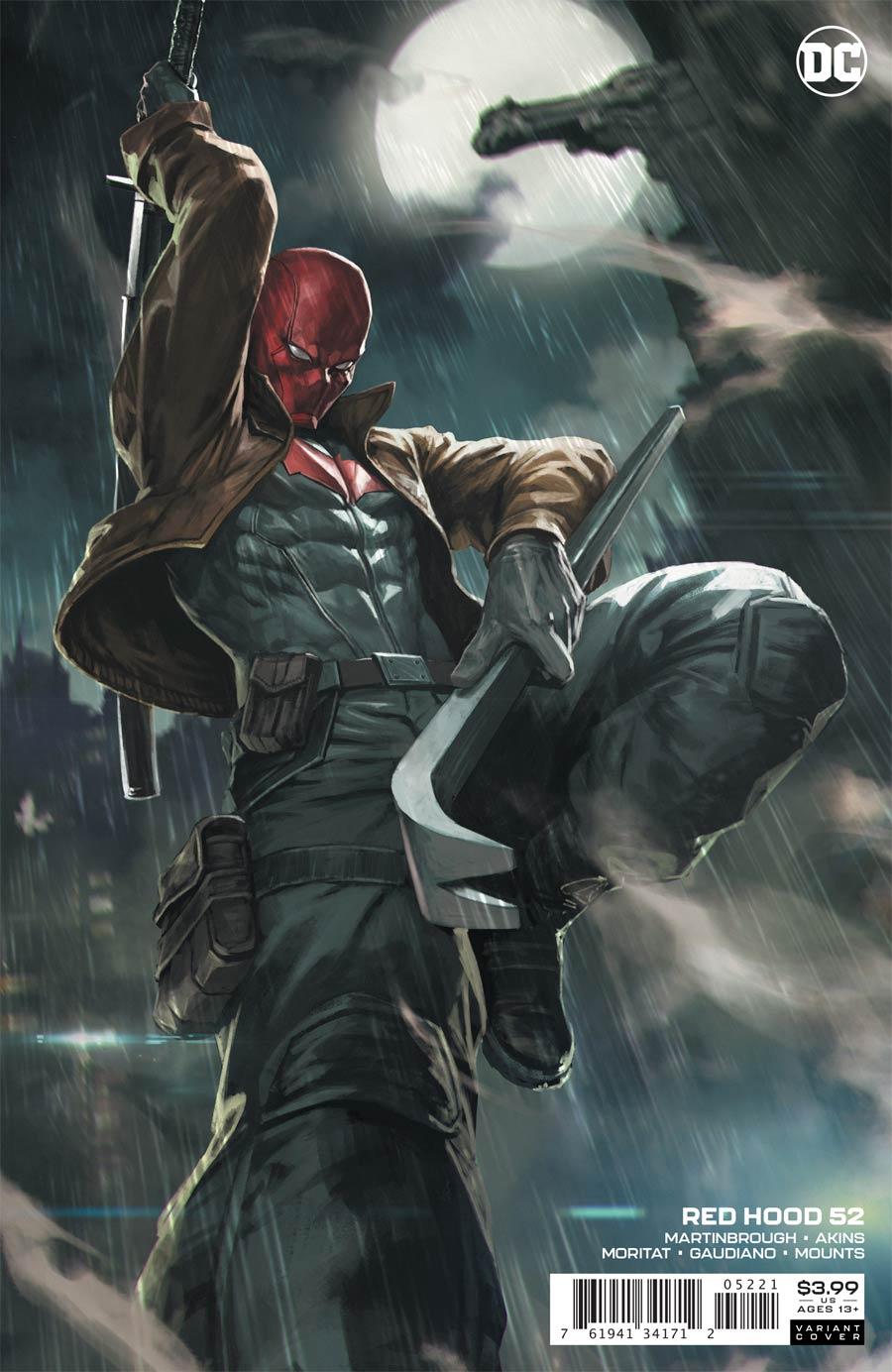 Red Hood 52 Cover B Variant Skan Cover Midtown Comics