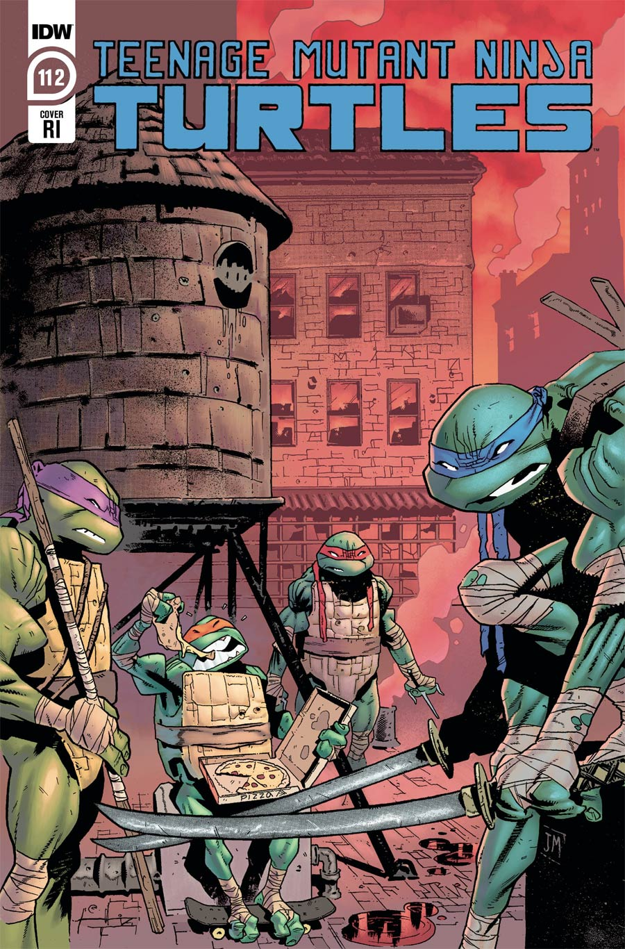 Teenage Mutant Ninja Turtles Vol 5 #112 Cover C Incentive Justin Mason Variant Cover