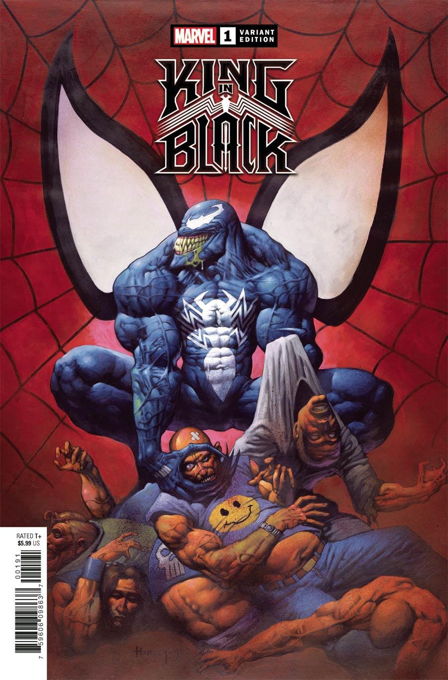 King In Black #1 Cover K Incentive Alex Horley Hidden Gem Variant Cover
