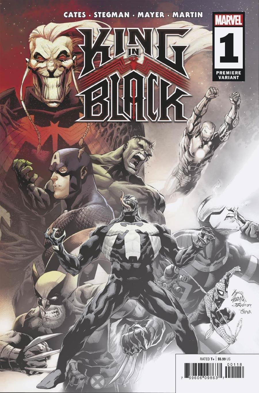 King In Black #1 Cover N Incentive Ryan Stegman Premiere Variant Cover