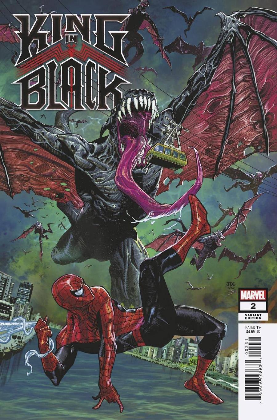 King In Black #2 Cover E Incentive Joshua Cassara Dragon Variant Cover
