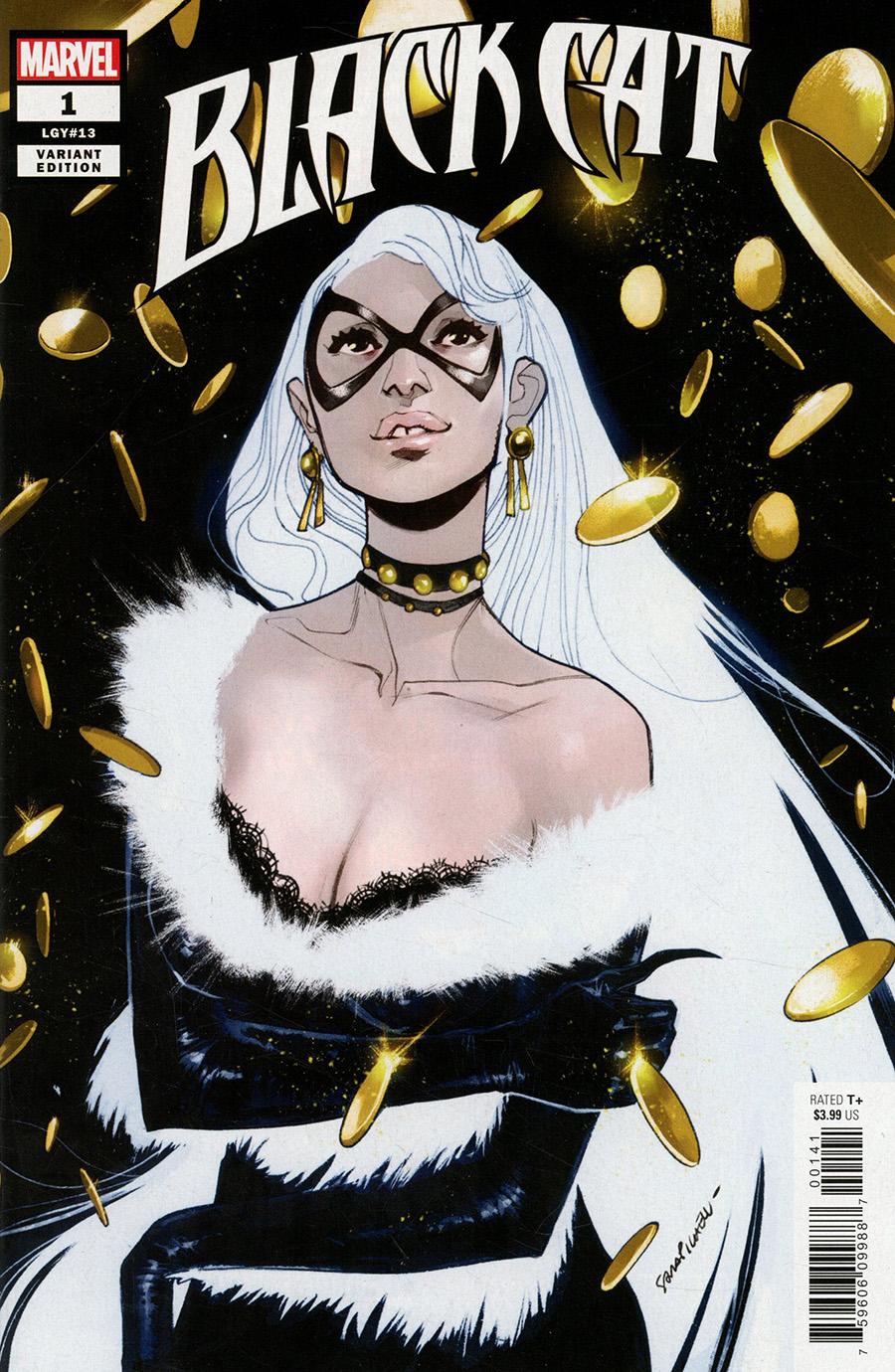 Black Cat Vol 2 #1 Cover F Incentive Sara Pichelli Variant Cover (King In Black Tie-In)
