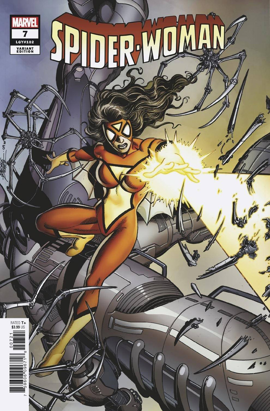 Spider-Woman Vol 7 #7 Cover B Variant Peach Momoko Knullified Cover