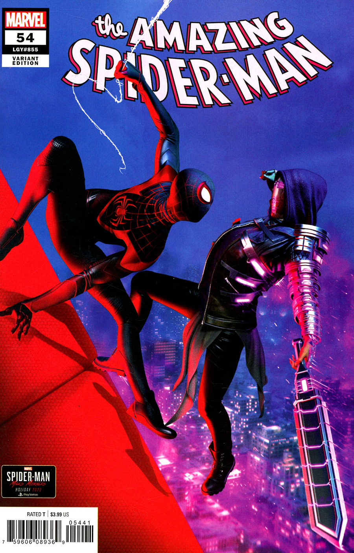 Amazing Spider-Man Vol 5 #54 Cover D Incentive Gavin Goulden Marvels Spider-Man Miles Morales Variant Cover