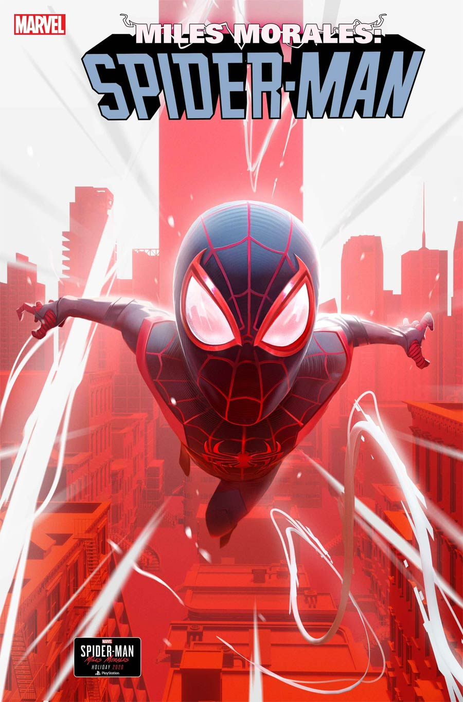 Miles Morales Spider-Man #21 Cover C Incentive Nick Schumacher Marvels Spider-Man Miles Morales Variant Cover