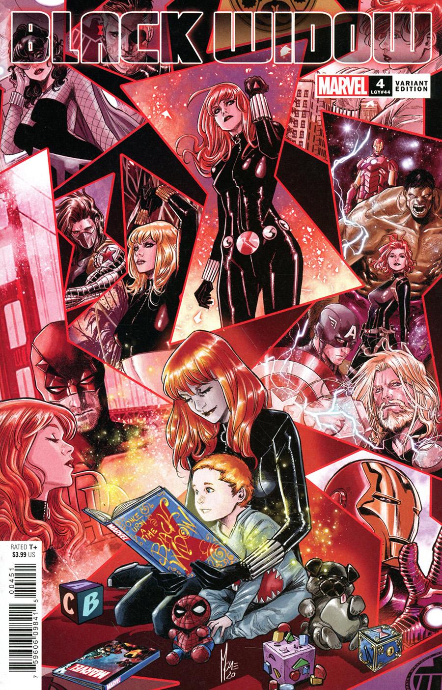 Black Widow Vol 8 #4 Cover D Incentive Marco Checchetto Variant Cover