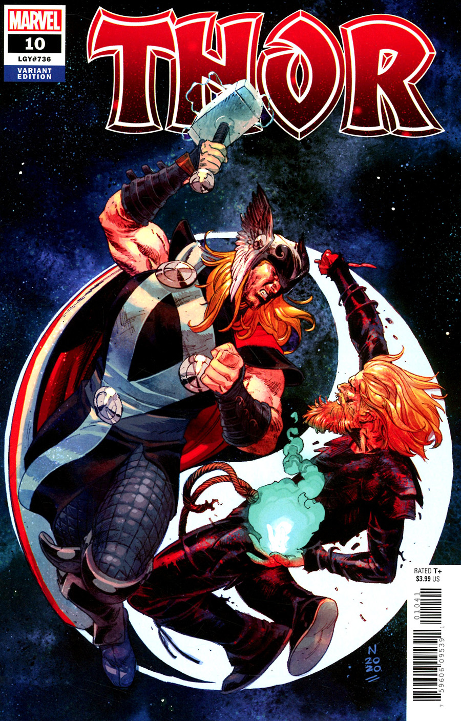 Thor Vol 6 #10 Cover C Incentive Nic Klein Variant Cover
