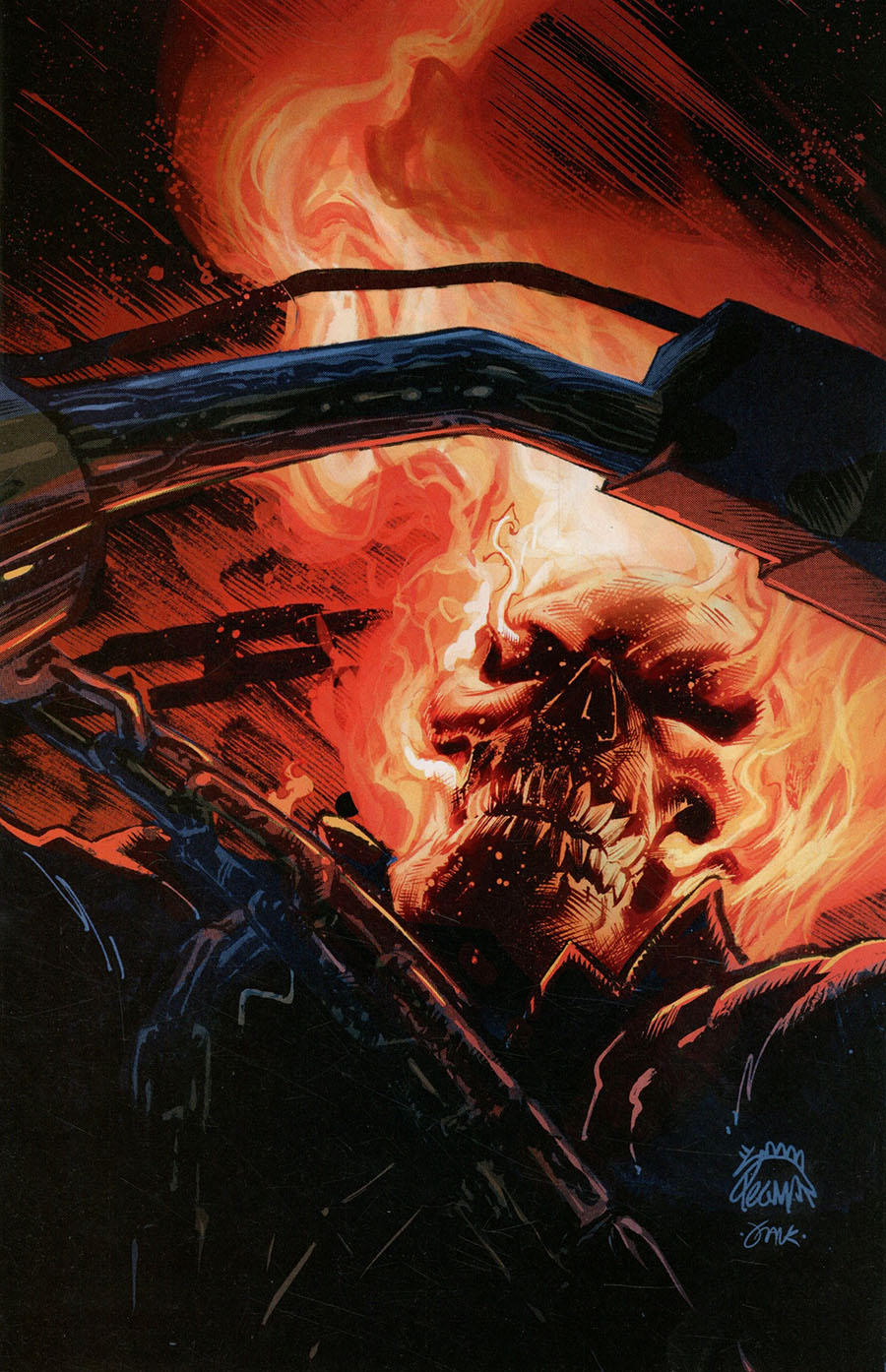 Ghost Rider Return Of Vengeance One Shot Cover F Incentive Ryan Stegman Virgin Cover