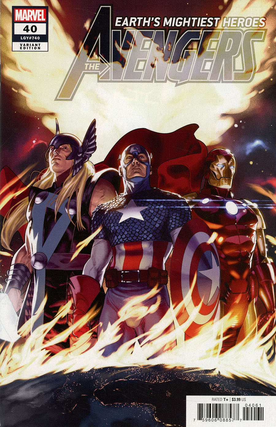 Avengers Vol 7 #40 Cover E Incentive Taurin Clarke Variant Cover