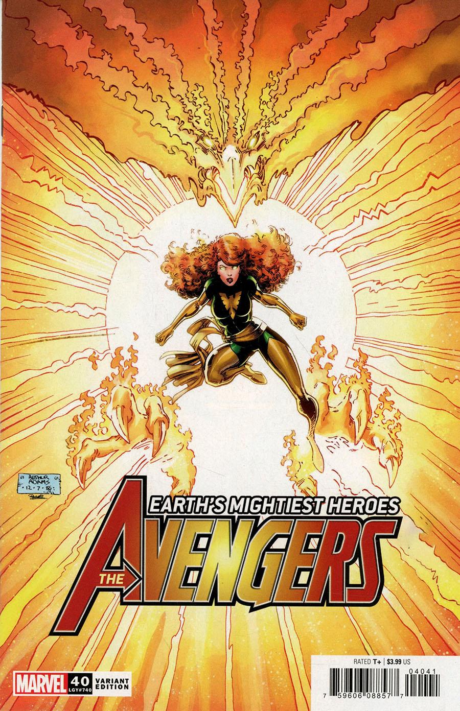 Avengers Vol 7 #40 Cover F Incentive Arthur Adams Hidden Gem Variant Cover