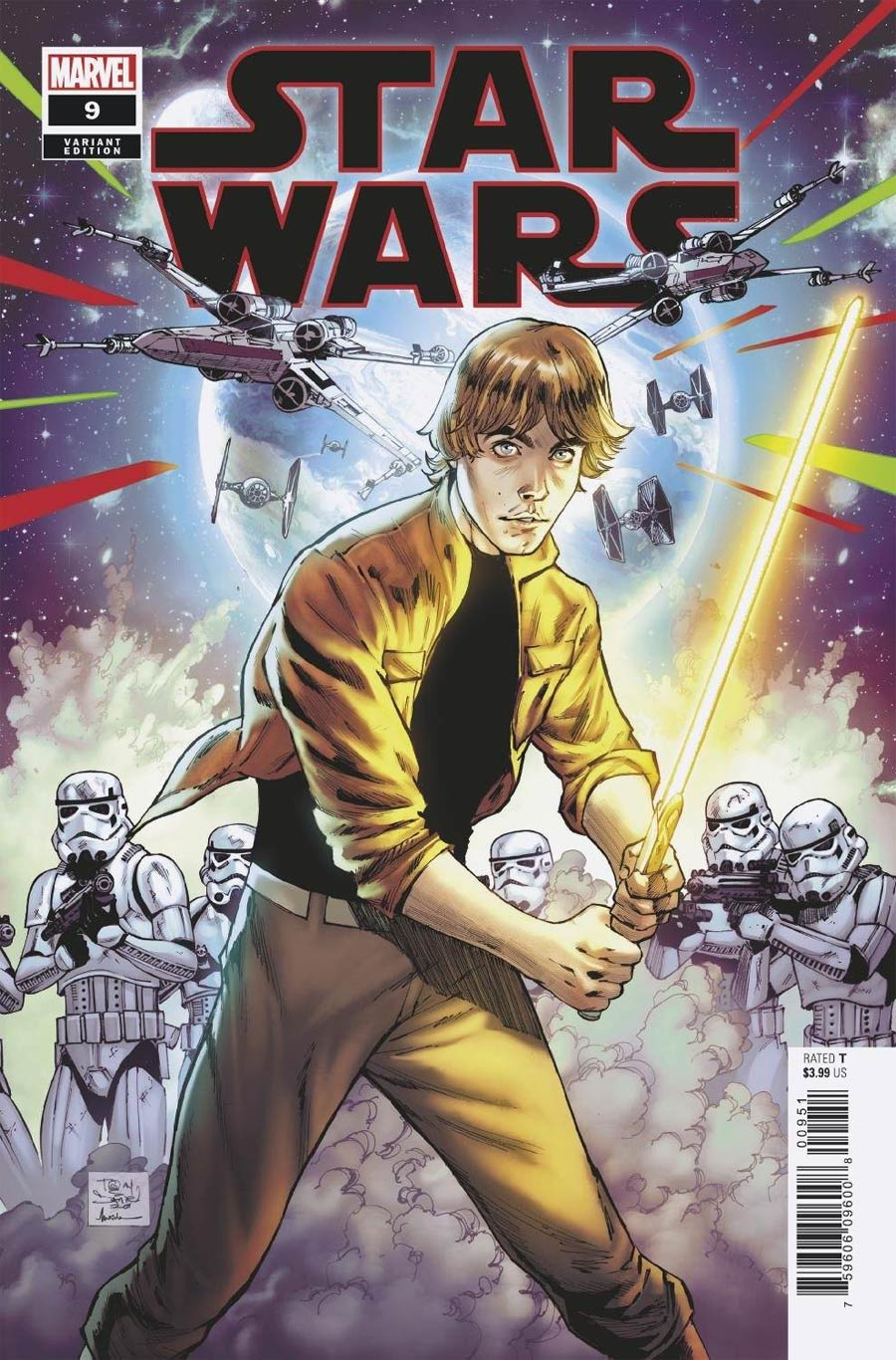 Star Wars Vol 5 #9 Cover D Incentive Tony Daniel Variant Cover