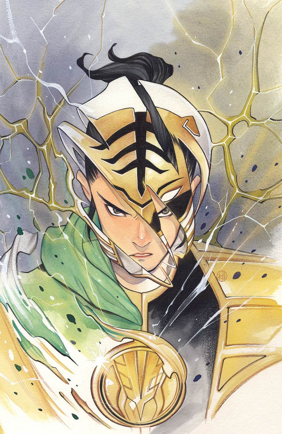 Mighty Morphin #2 Cover H Incentive Peach Momoko Virgin Variant Cover