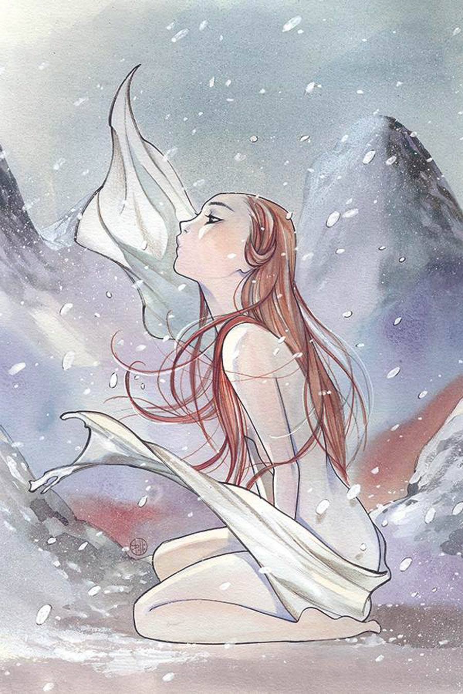Cimmerian Frost-Giants Daughter #1 Cover G Incentive Peach Momoko Virgin Cover