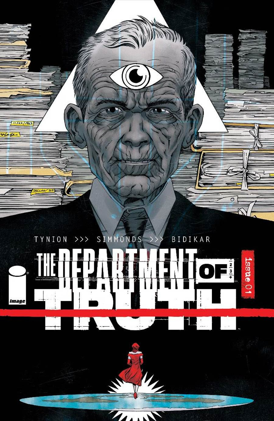 Department Of Truth #1 Cover C Incentive Declan Shalvey Variant Cover