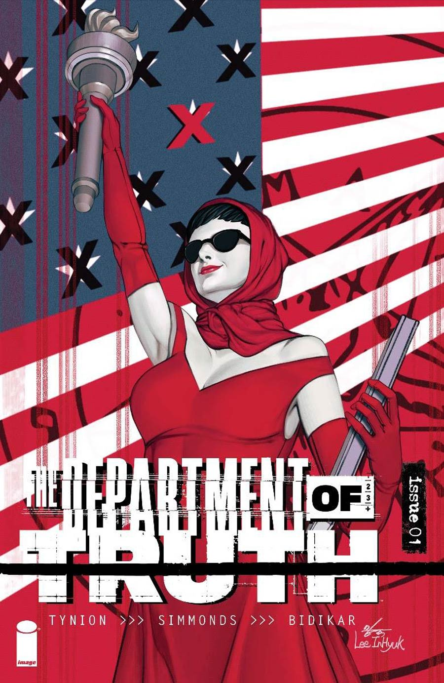 Department Of Truth #1 Cover D Incentive Inhyuk Lee Variant Cover