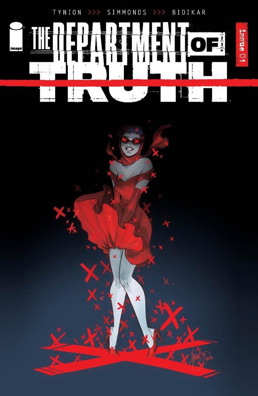Department Of Truth #1 Cover E Incentive Mirka Andolfo Variant Cover