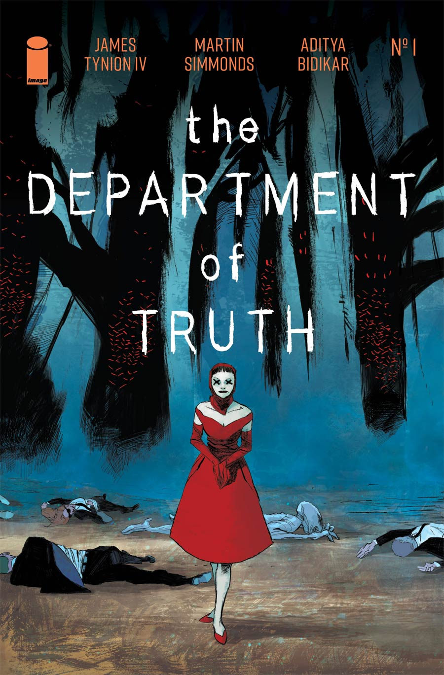 Department Of Truth #1 Cover F Incentive Werther Dell Edera Variant Cover