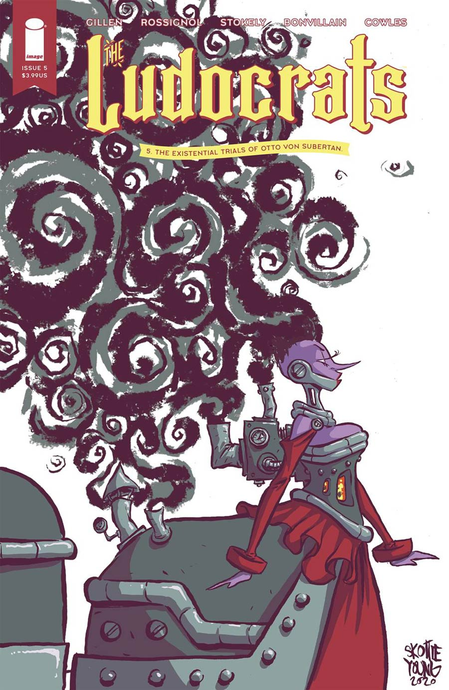 Ludocrats #5 Cover B Variant Skottie Young Cover
