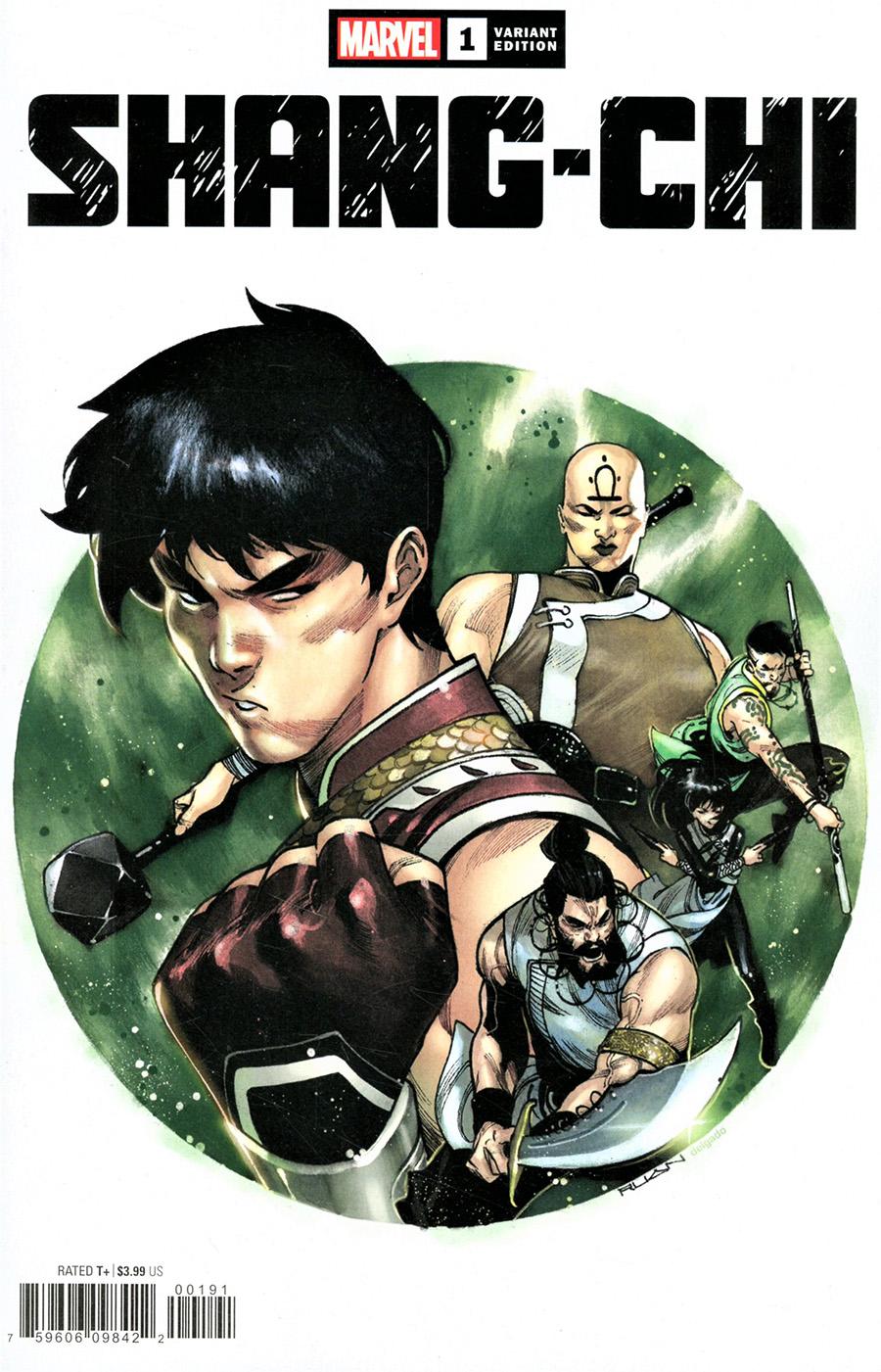 Shang-Chi #1 Cover E Variant Dike Ruan Cover