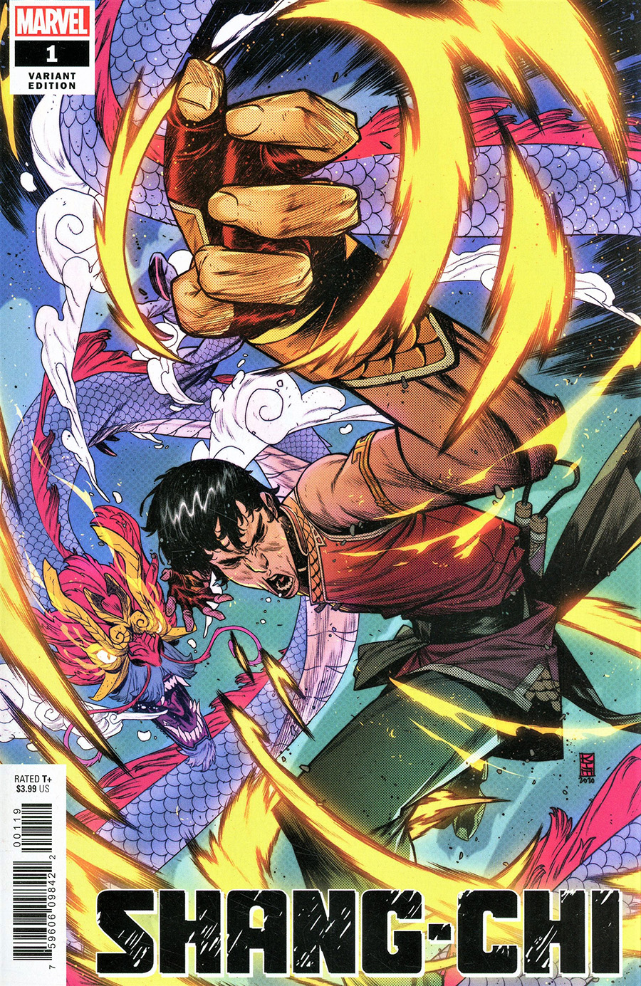 Shang-Chi #1 Cover G Variant Kim Jacinto Cover