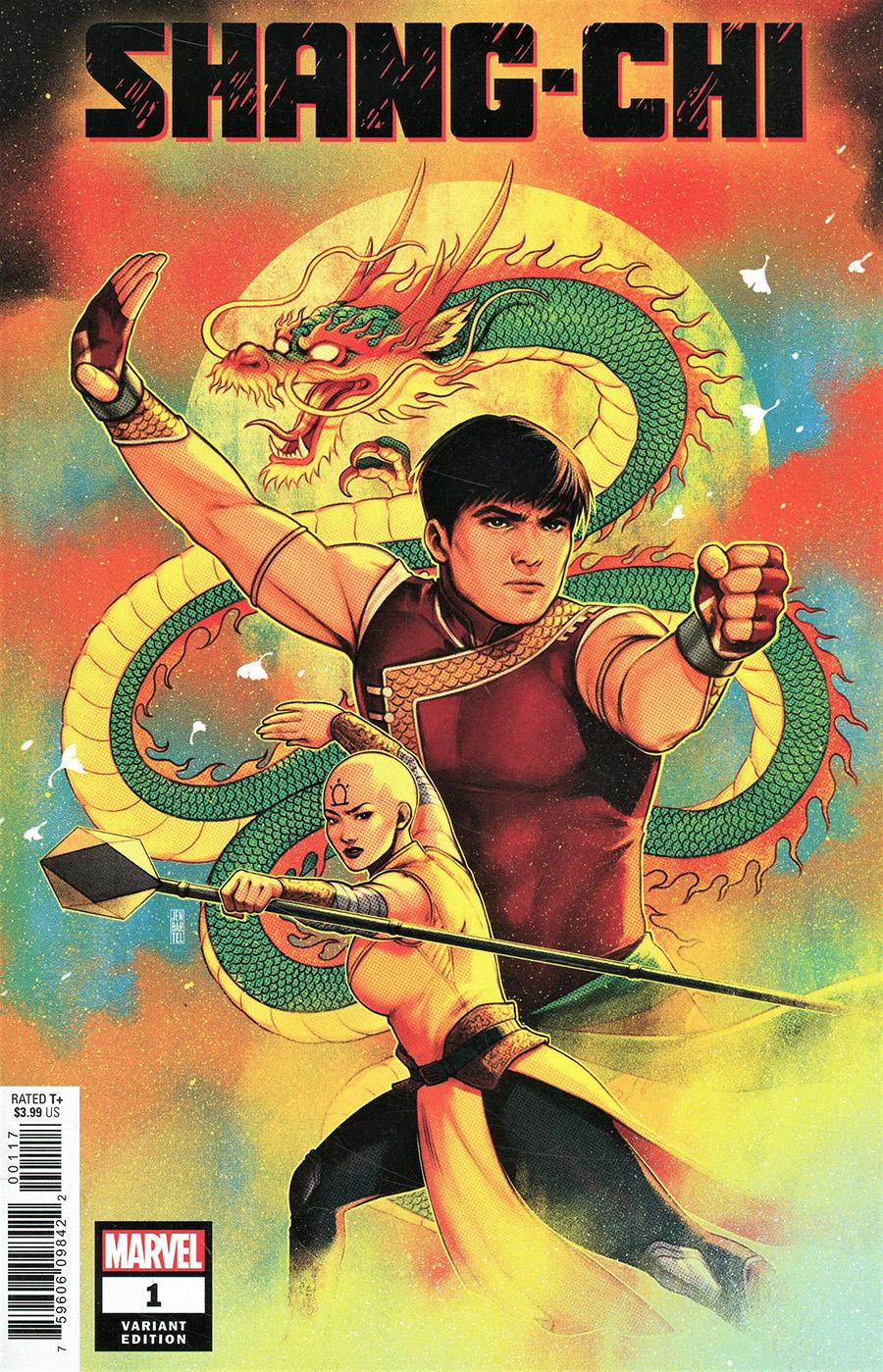 Shang-Chi #1 Cover K Incentive Jen Bartel Variant Cover