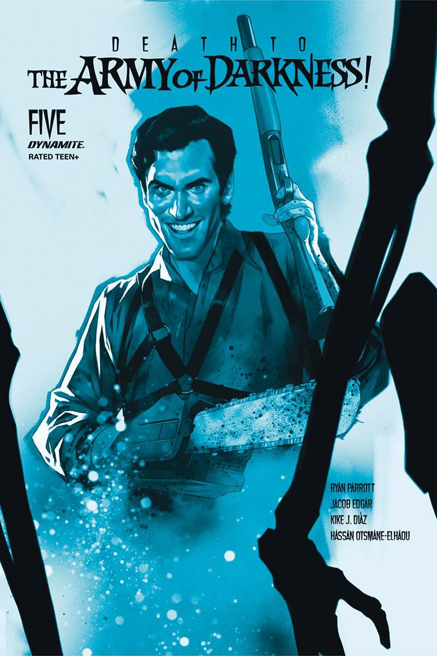 Death To The Army Of Darkness #5 Cover J Incentive Ben Oliver Tint Cover