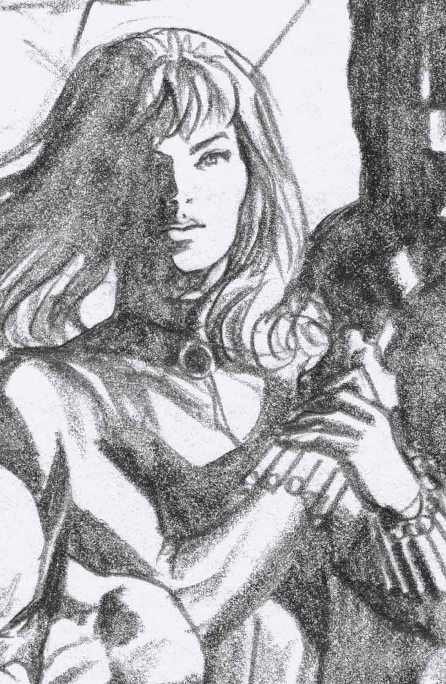 Black Widow Vol 8 #2 Cover H Incentive Alex Ross Timeless Black Widow Virgin Sketch Cover