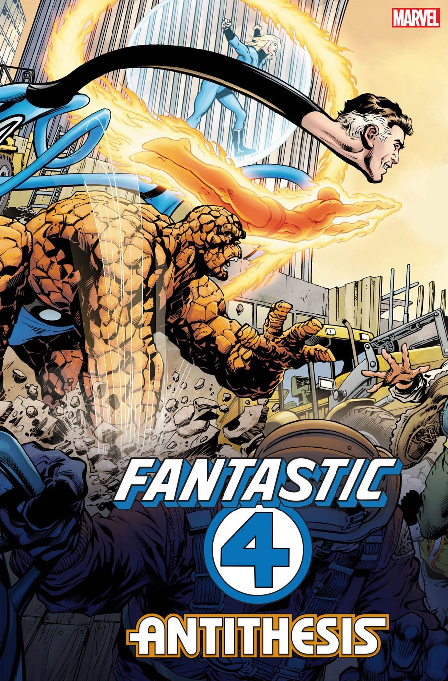 Fantastic Four Antithesis #1 Cover F 2nd Ptg Variant Cover
