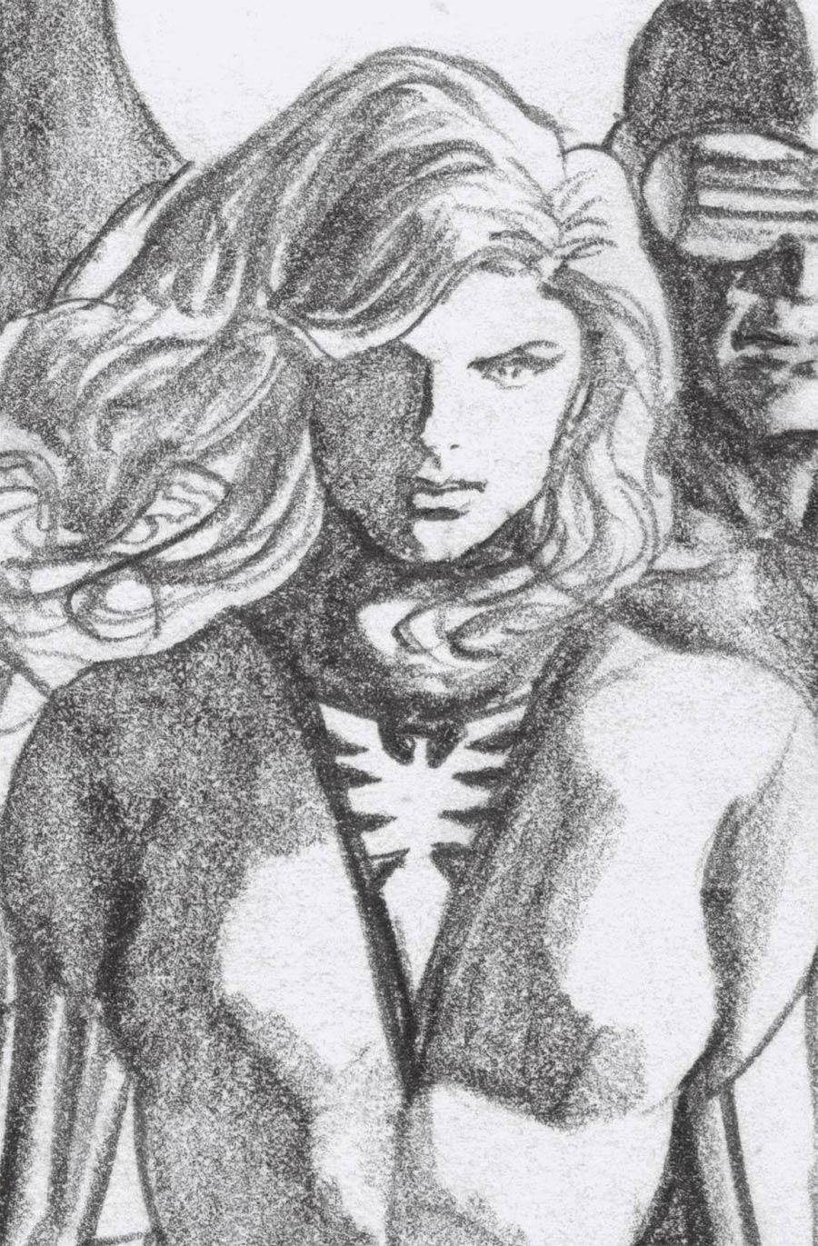Hellions #5 Cover D Incentive Alex Ross Timeless Phoenix Virgin Sketch Cover (X Of Swords Part 6)