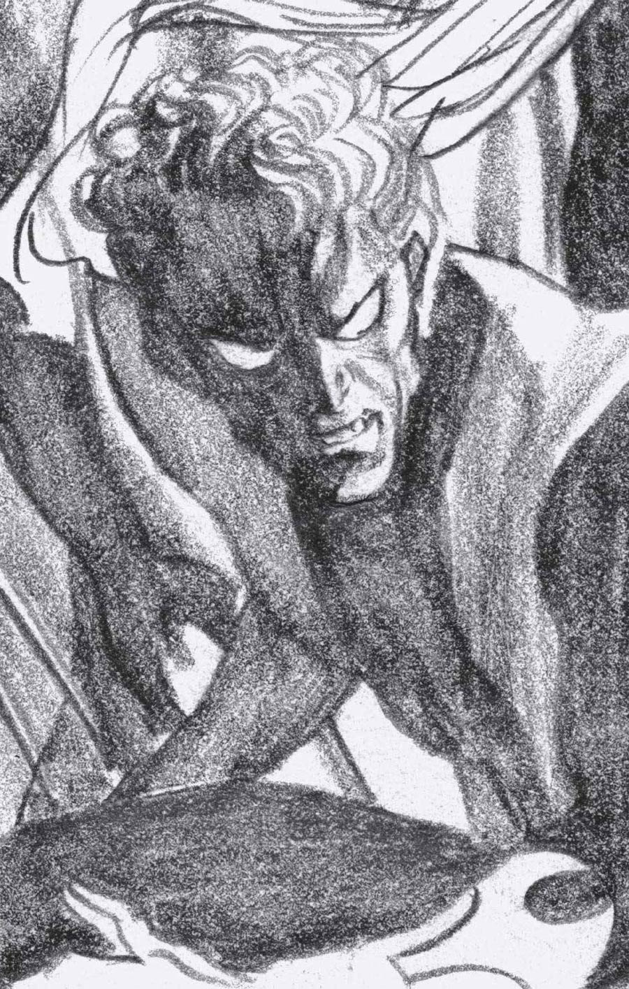 Excalibur Vol 4 #13 Cover D Incentive Alex Ross Timeless Nightcrawler Virgin Sketch Cover (X Of Swords Part 9)