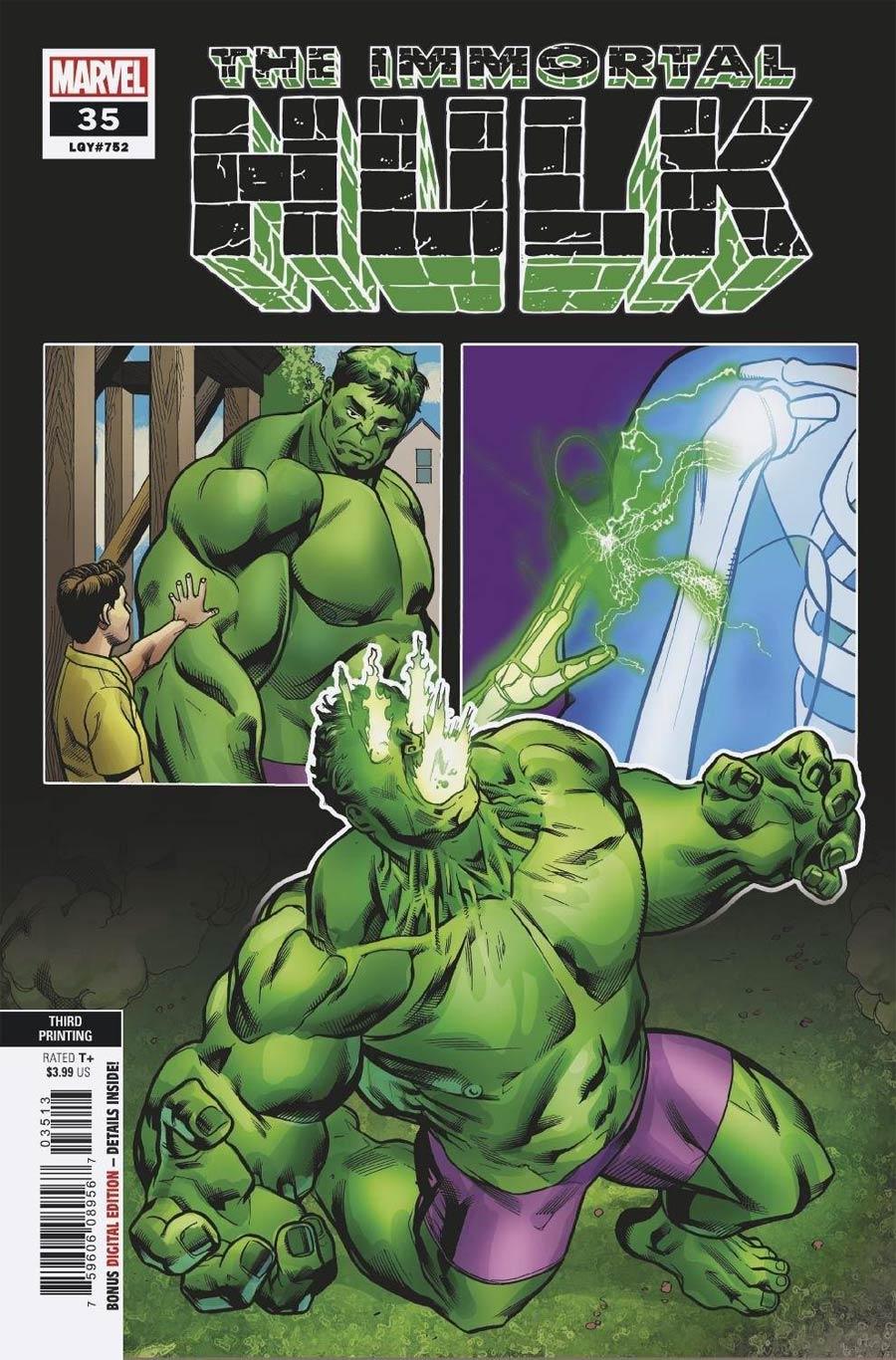 Immortal Hulk #35 Cover D 3rd Ptg Variant Cover