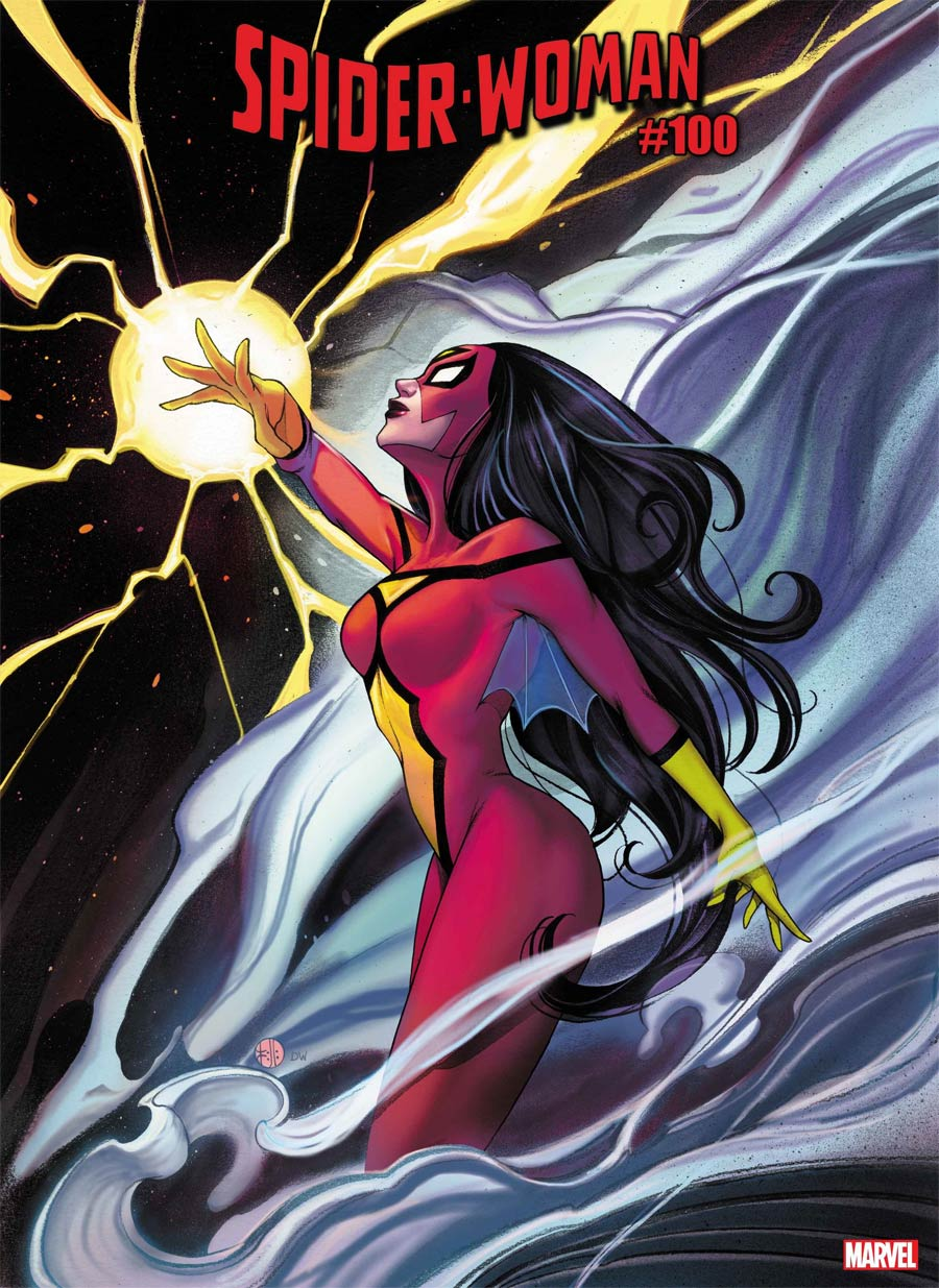 Spider-Woman Vol 7 #5 Cover H Variant Peach Momoko Cover (#100)