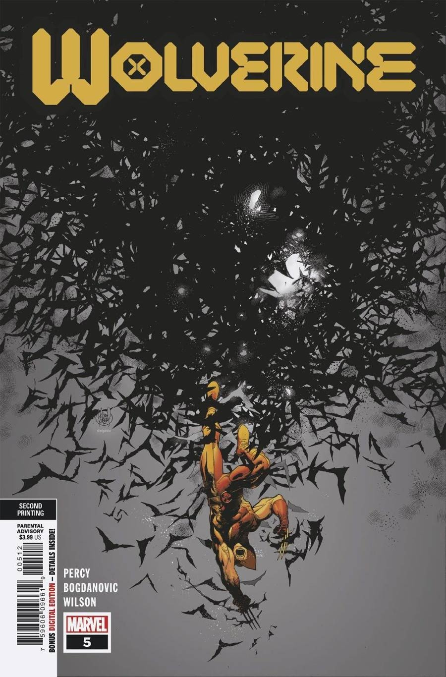 Wolverine Vol 7 #5 Cover D 2nd Ptg Adam Kubert Variant Cover