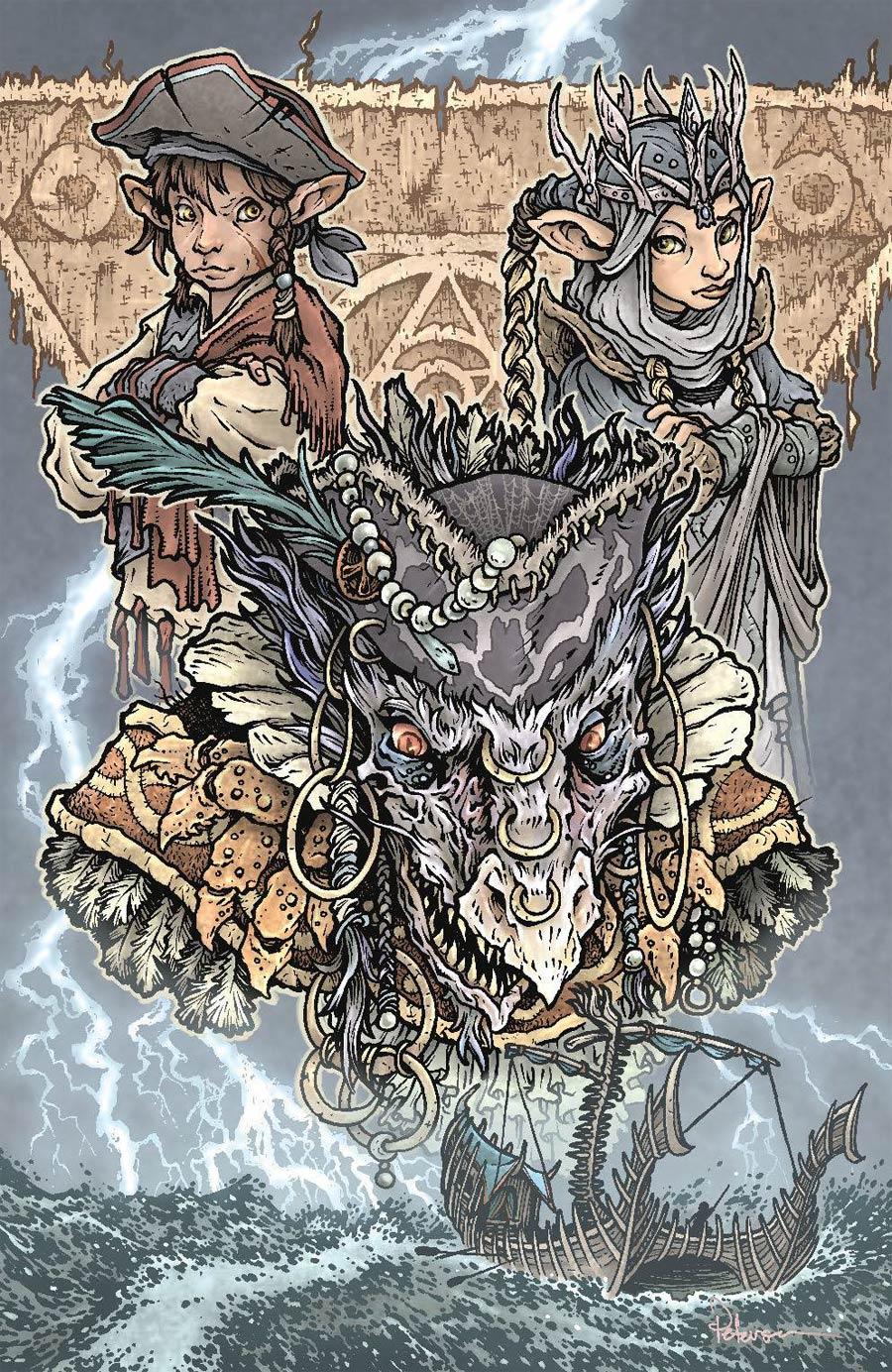 Jim Hensons Dark Crystal Age Of Resistance #12 Cover C Variant David Petersen Cover