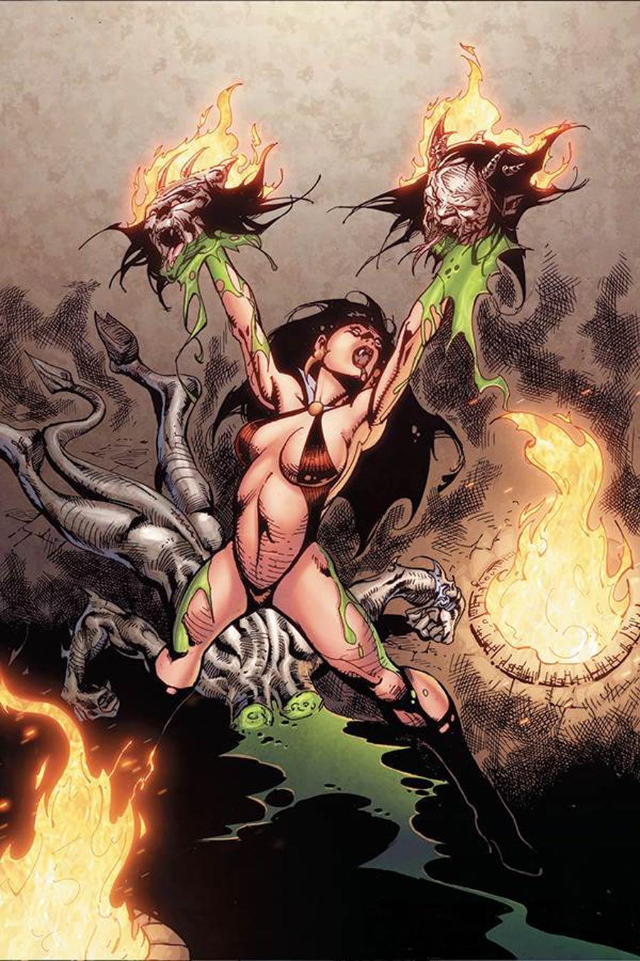 Vengeance Of Vampirella Vol 2 #11 Cover H Incentive Roberto Castro Virgin Cover