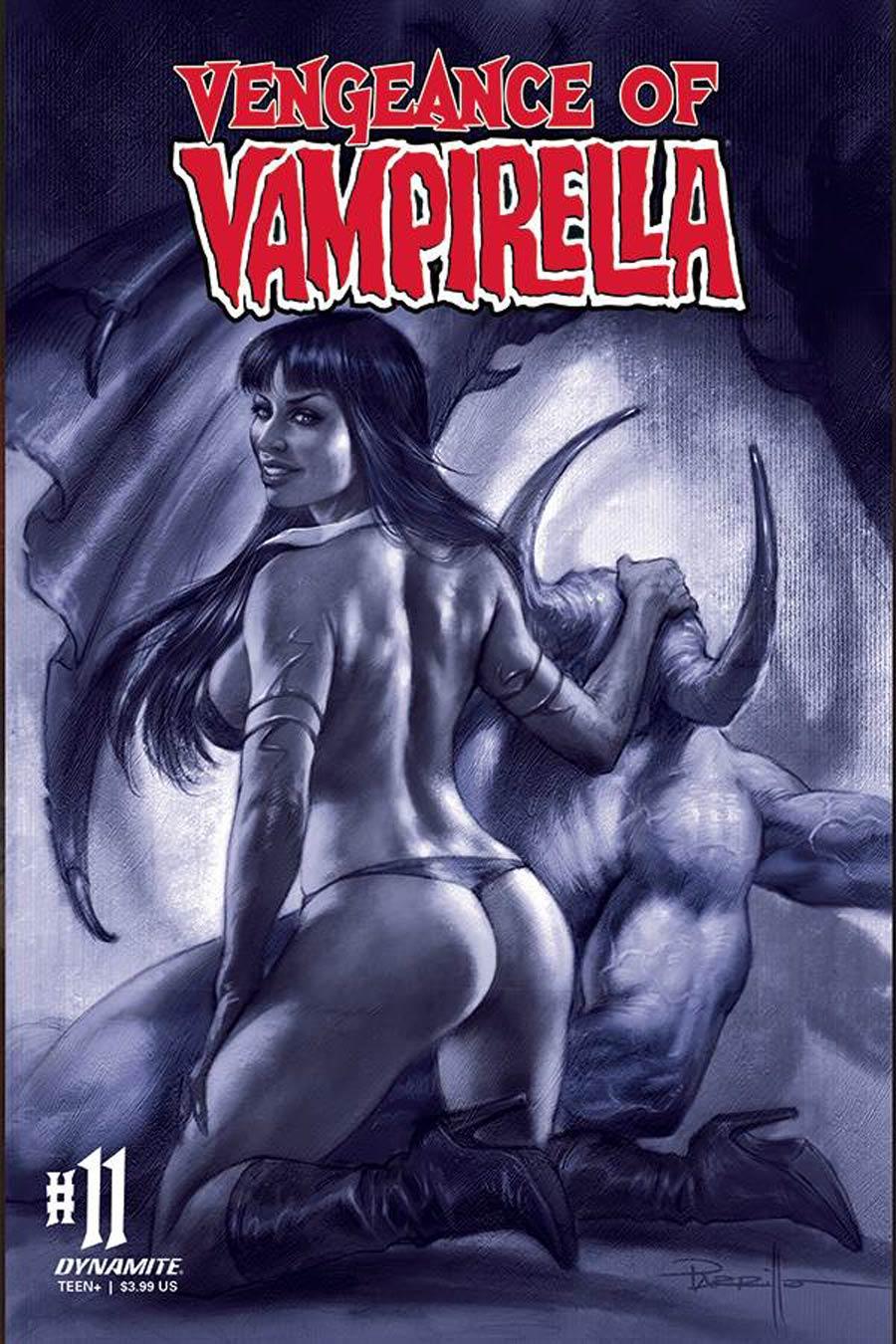 Vengeance Of Vampirella Vol 2 #11 Cover M Incentive Lucio Parrillo Tint Cover