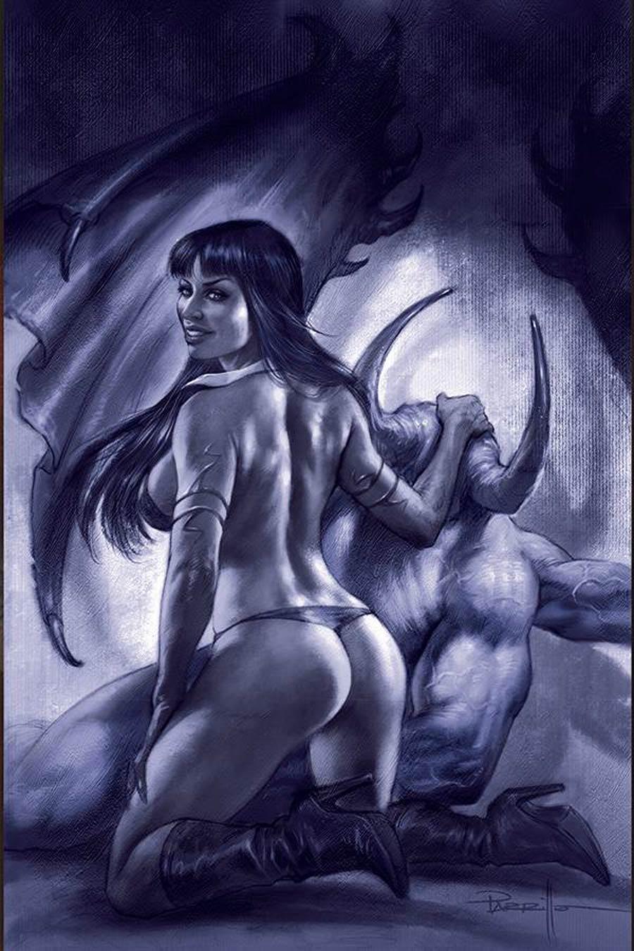 Vengeance Of Vampirella Vol 2 #11 Cover N Incentive Lucio Parrillo Tint Virgin Cover