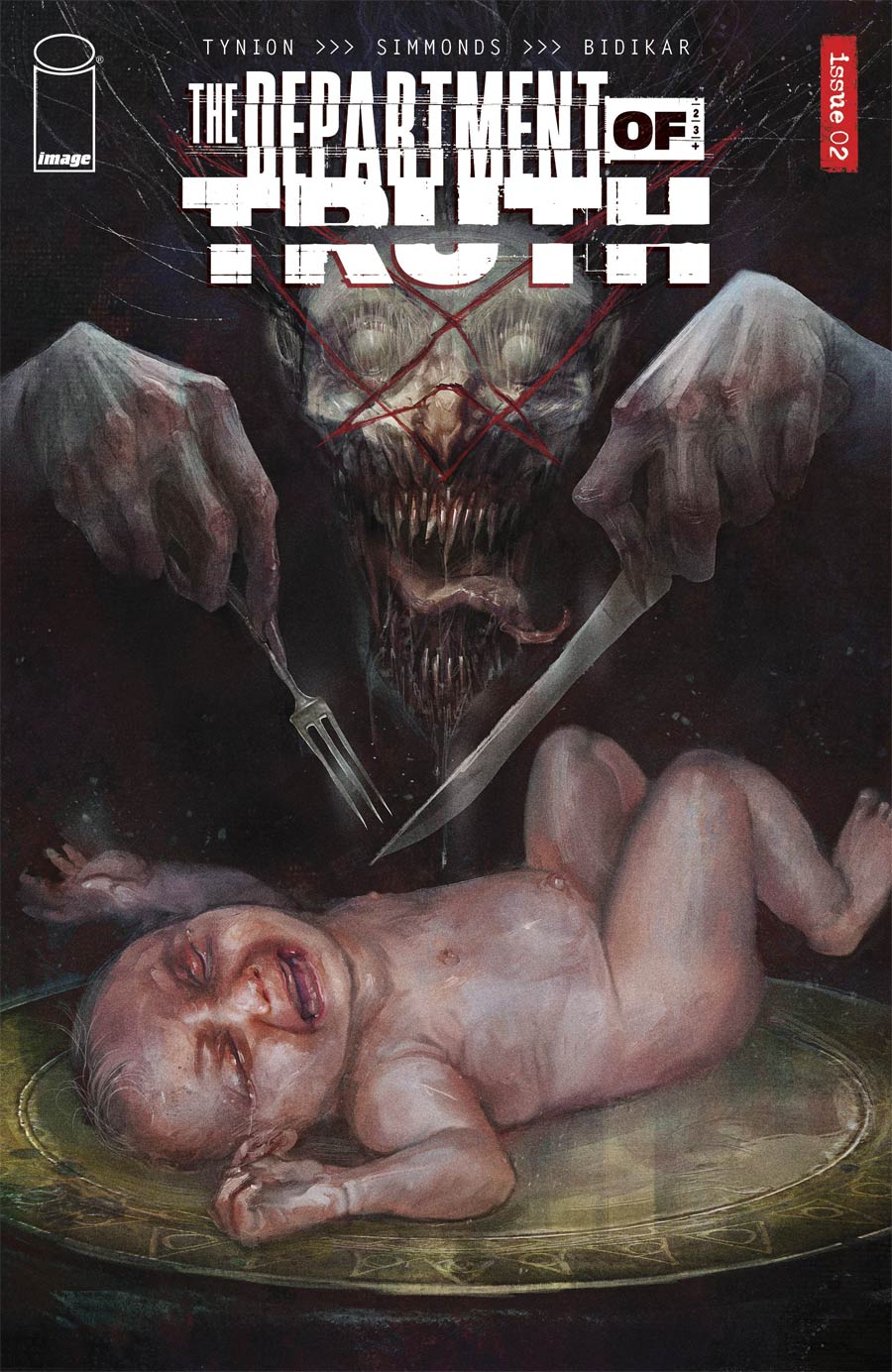 Department Of Truth #2 Cover D Incentive David Romero Variant Cover