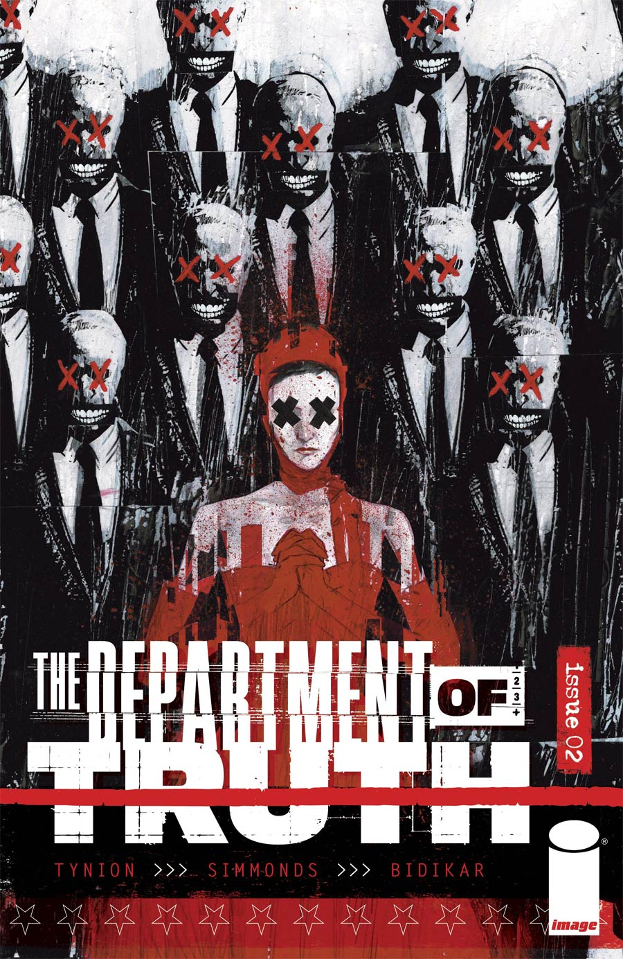 Department Of Truth #2 Cover E Incentive Martin Simmonds Variant Cover