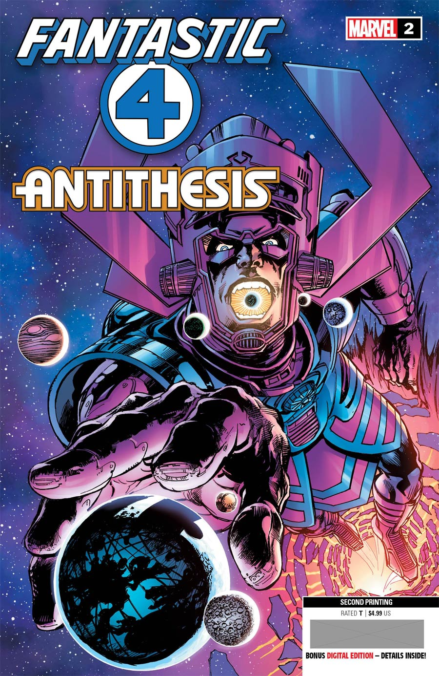 Fantastic Four Antithesis #2 Cover E 2nd Ptg Neal Adams Variant Cover
