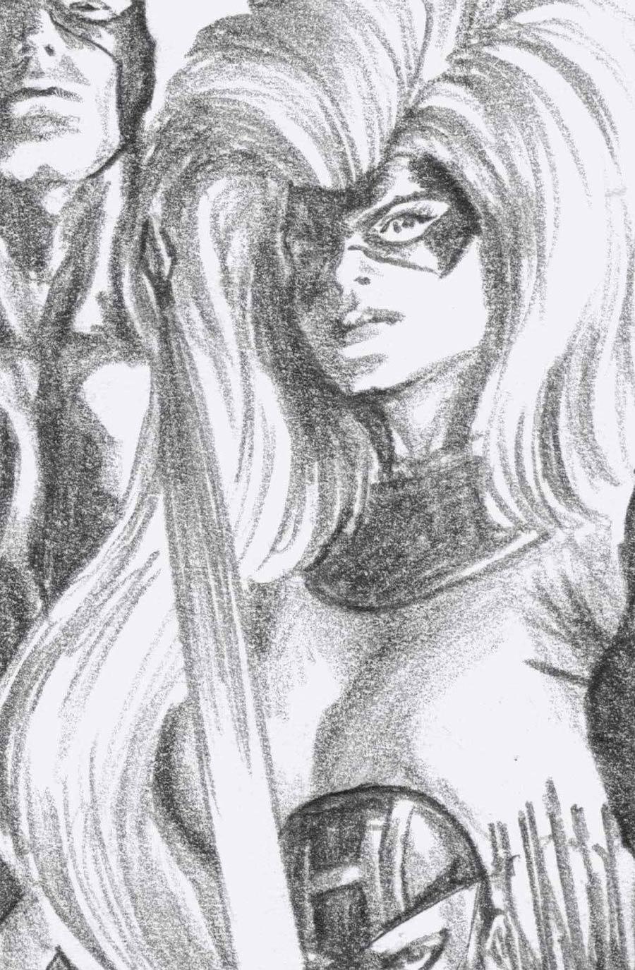 Fantastic Four Antithesis #3 Cover D Incentive Alex Ross Timeless Medusa Virgin Sketch Cover