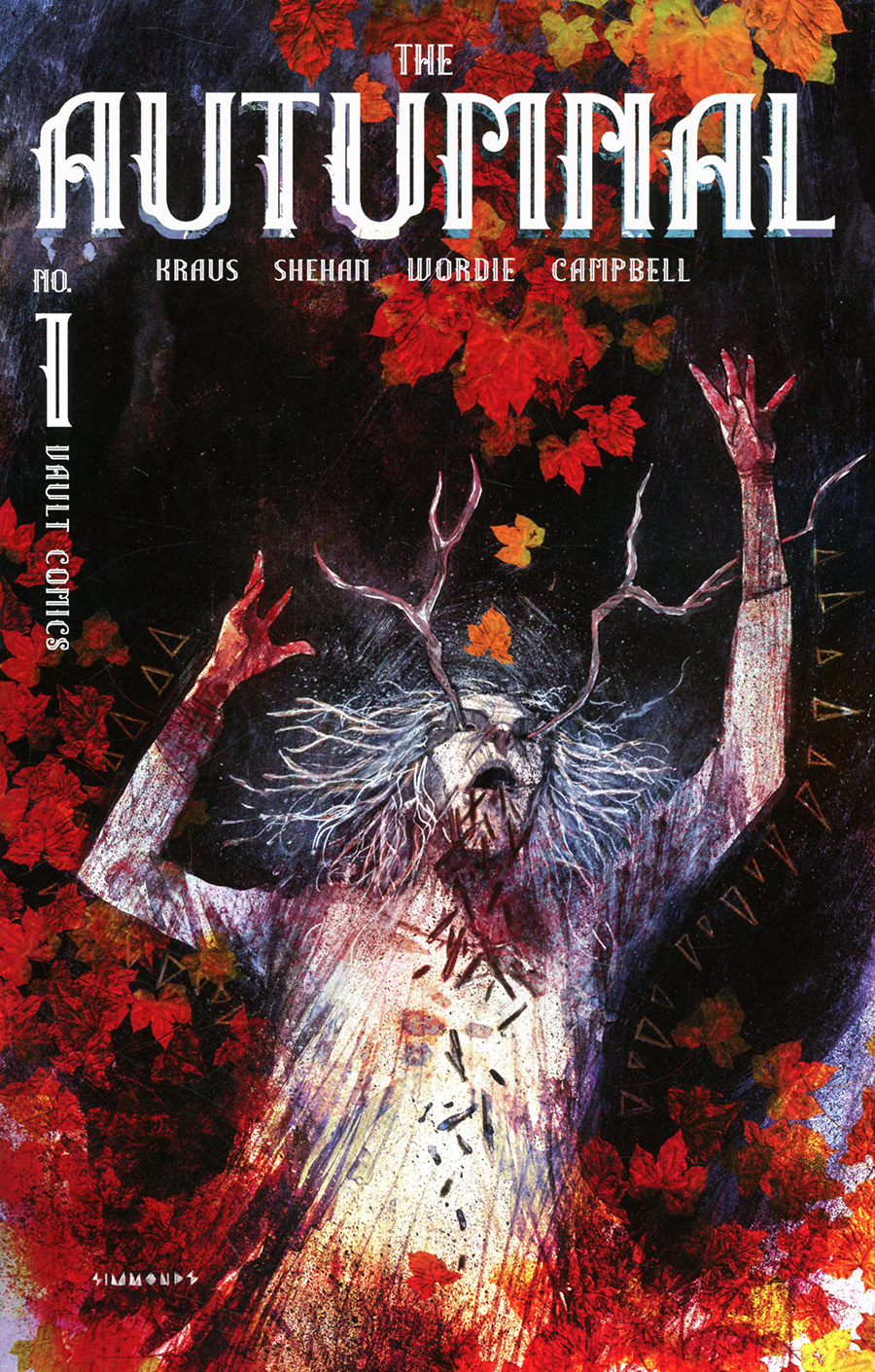 Autumnal #1 Cover E 2nd Ptg Martin Simmonds Foil Variant Cover