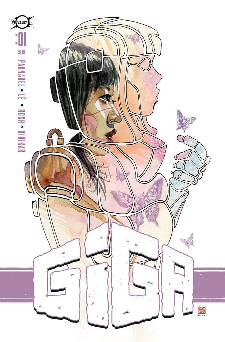 Giga #1 Cover E Incentive David Mack Foil Variant Cover